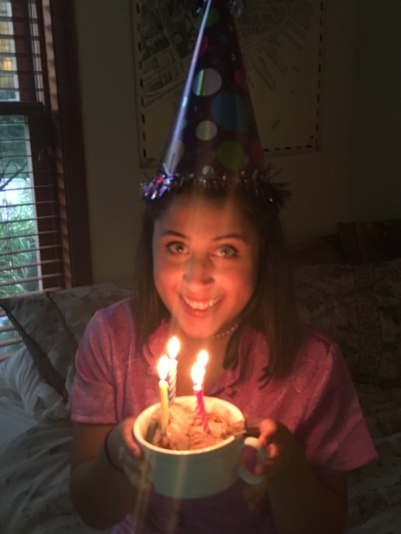 18th birthday ice cream candles