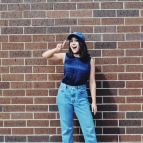 Blogging anniversary grunge teenager fashion style blogger 90s