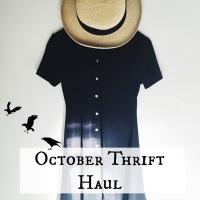 October Thrift Haul 2016