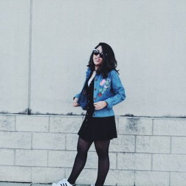 vintage denim grunge outerwear lookbook
