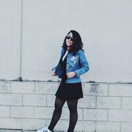 vintage denim grunge outerwear lookbook